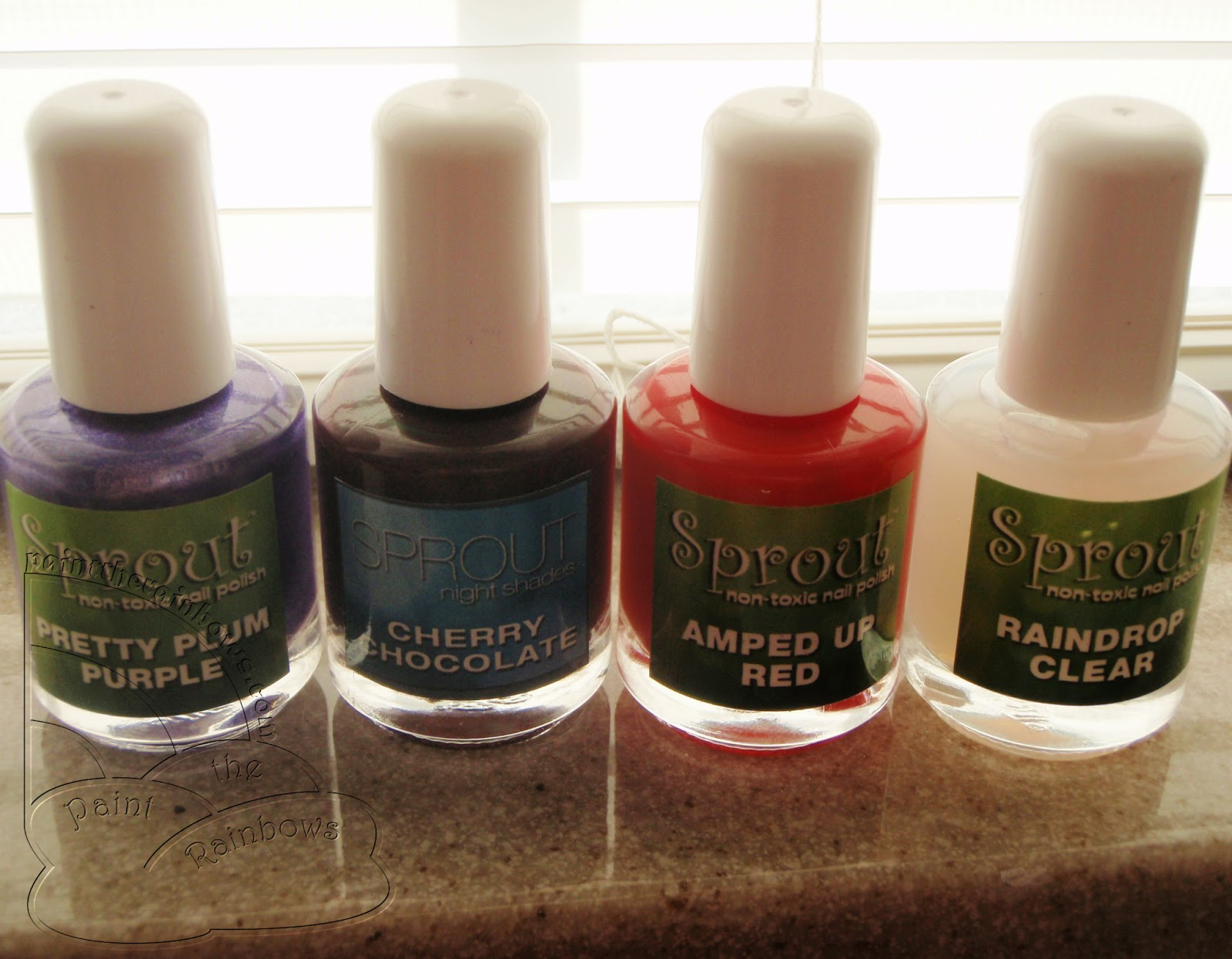 paint the rainbows ☆彡: Sprout Non-Toxic Nail Polish Swatches and ...