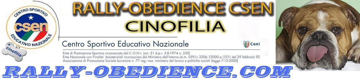 RALLY-OBEDIENCE CSEN