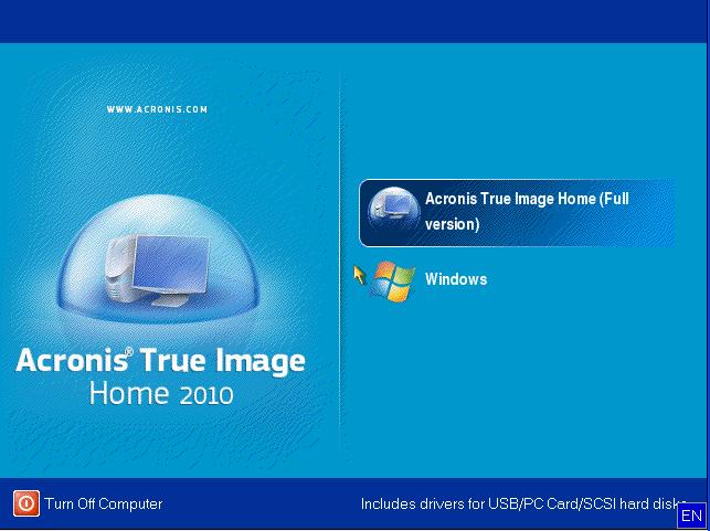 Как сделать образ windows xp