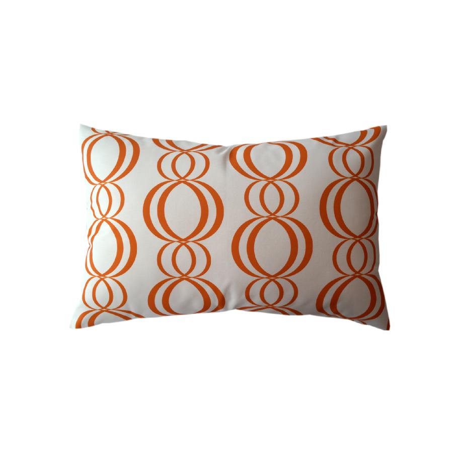 Via San Vito Ribbons Lumbar Pillow