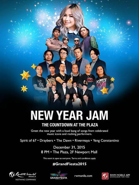 New Year Jam. The Countdown at the Plaza