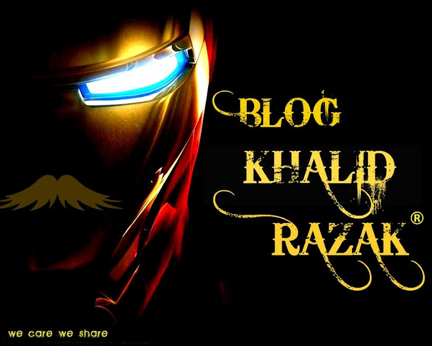 Blog Khalid Razak