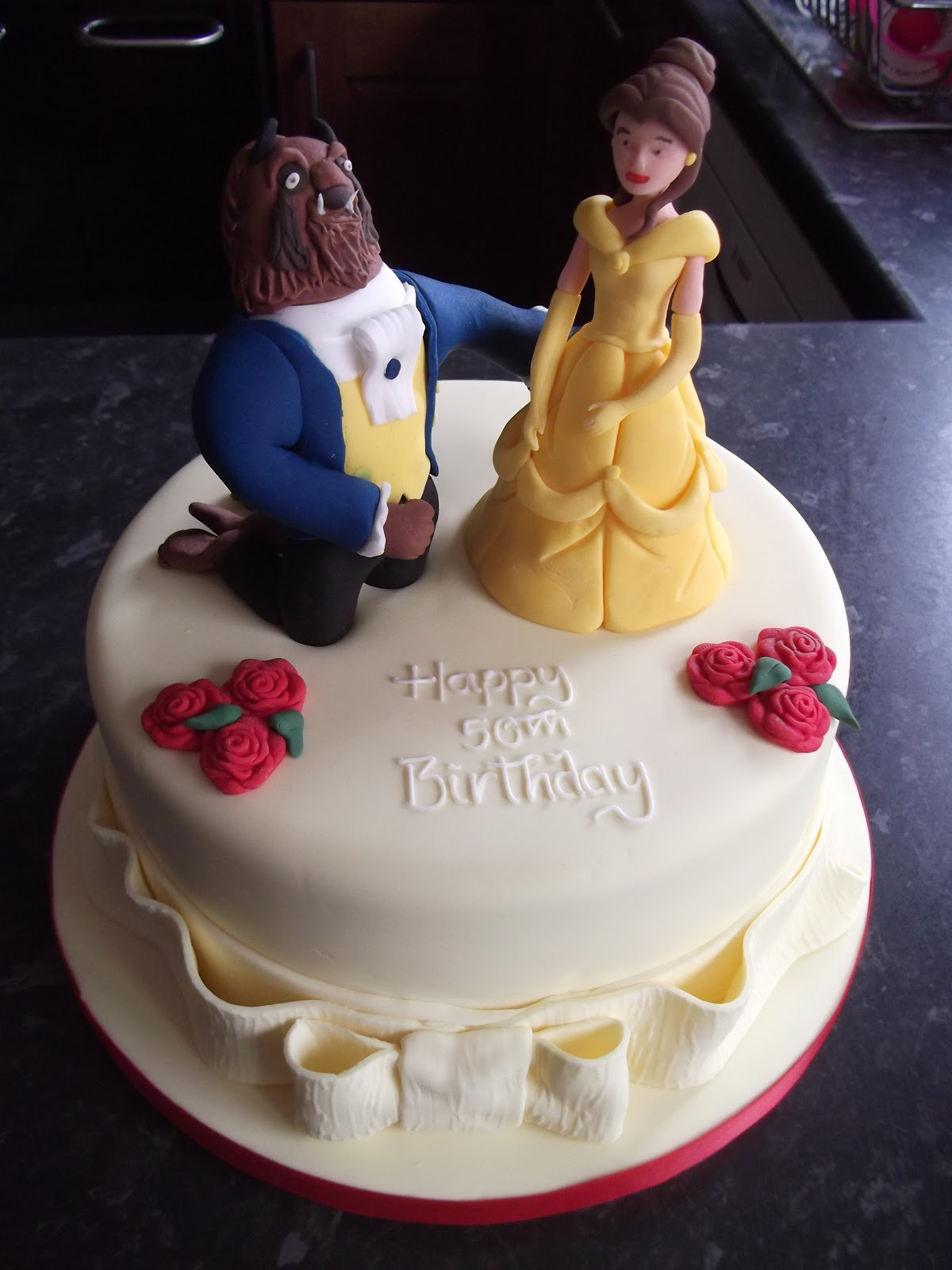 Cakes By Karen: Beauty and The Beast Cake