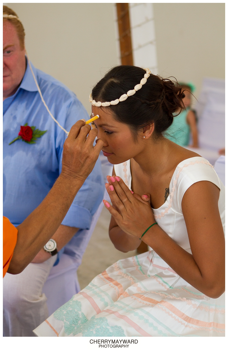 Thai wedding ceremony, Koh Samui Beach wedding