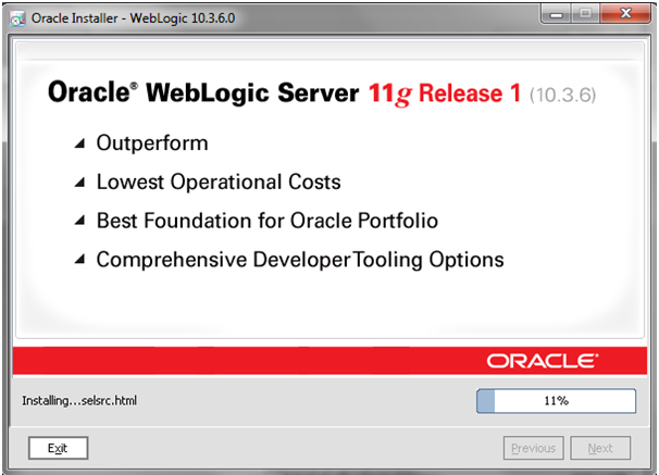 Weblogic10.3.6_Installation_Progress