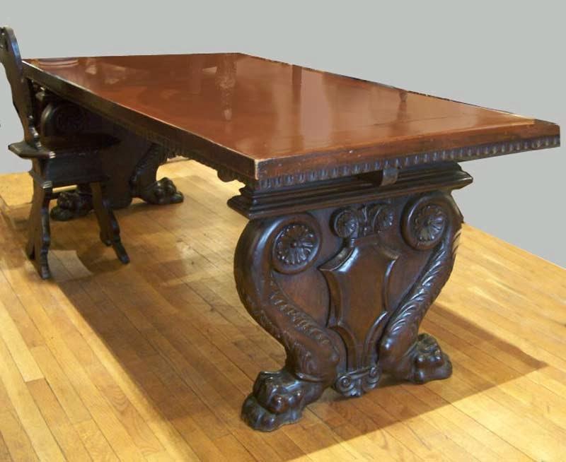 Muebles modernos minimalistas mesas antiguas for Mesas antiguas