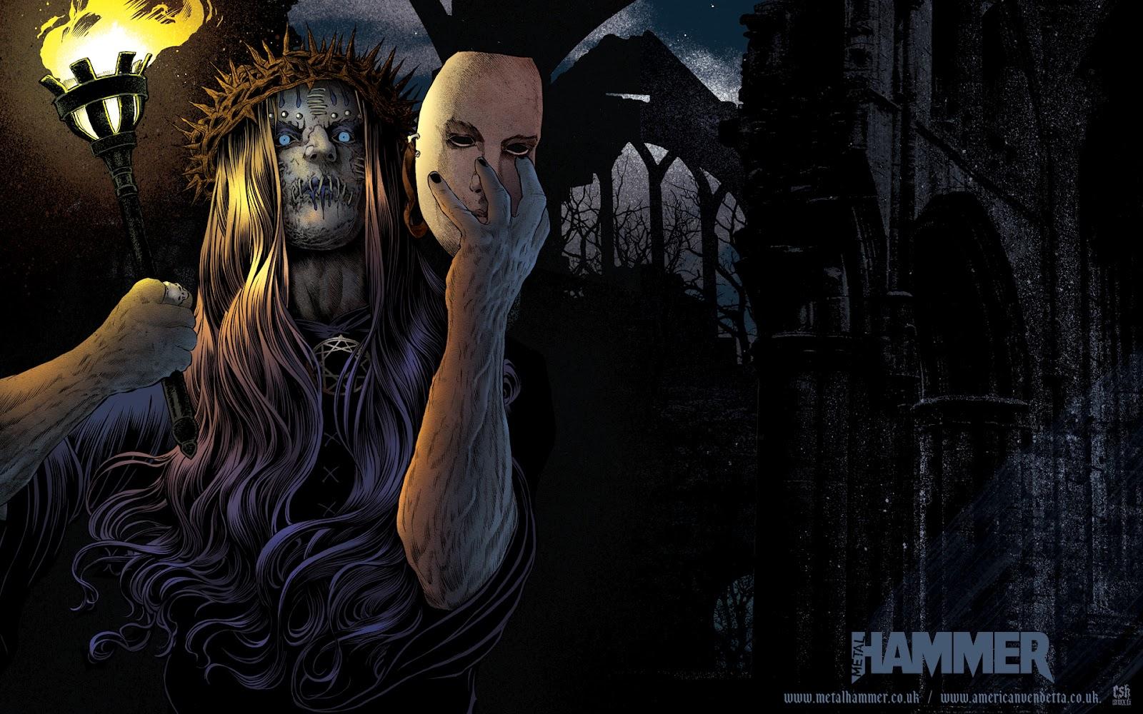 Joey Jordison Wallpaper Metal Hammer Rock Hits