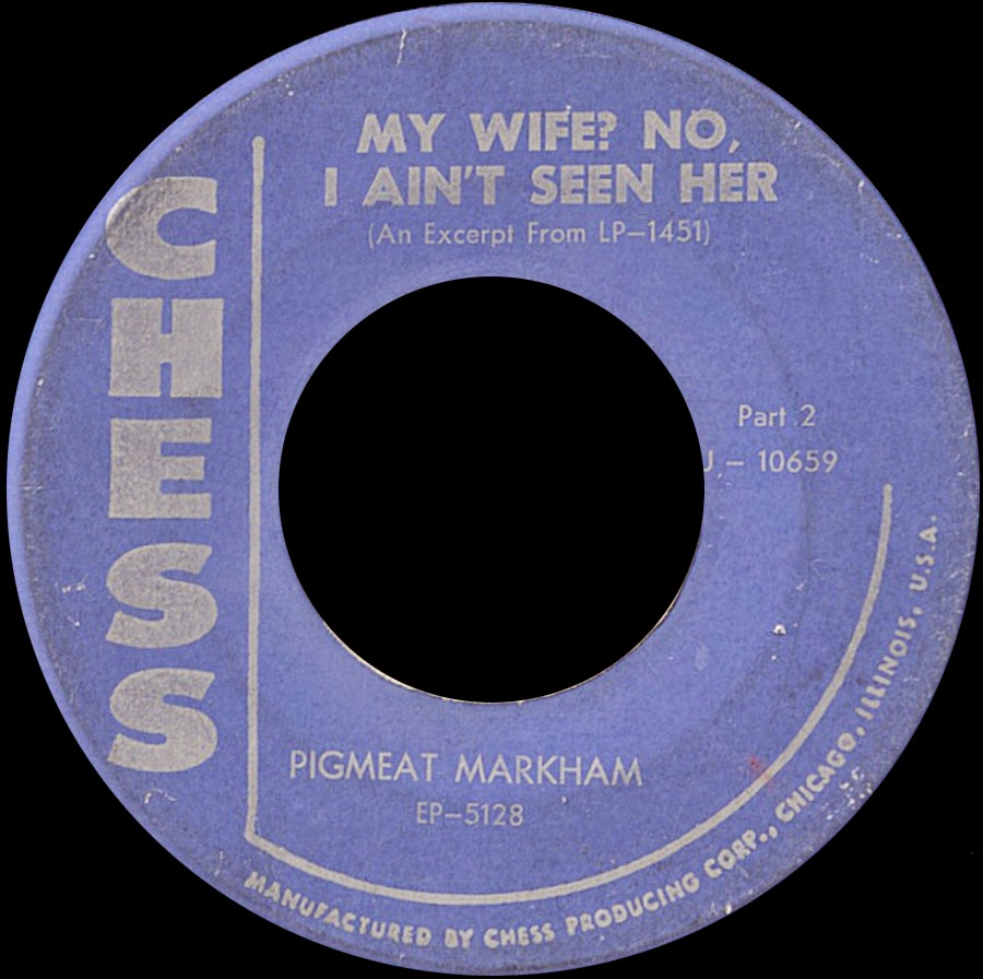 Pigmeat Markham - Pig's Popcorn / Who Got The Number