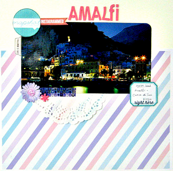 Il mio layout su Amalfi - My layout about Amalfi (in Italy)