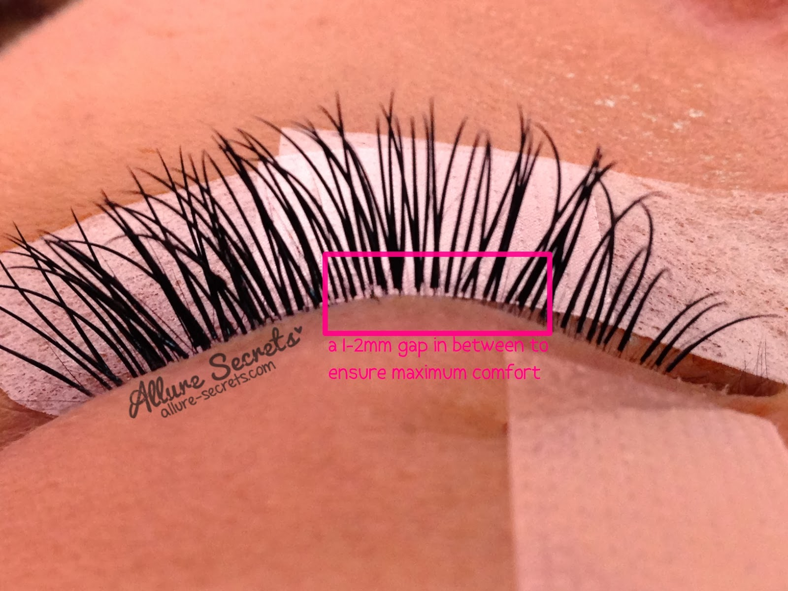 Allure Secrets Professional Eyelash Extension In Singapore