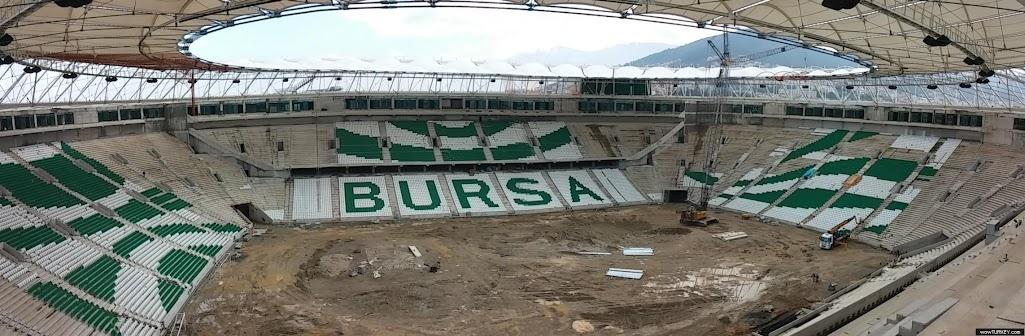 Timsah Arena Estadio Cocodrilo Bursaspor Bursa Turquia Crocodile Bursaspor Timsah Arena Stadium Bursa Turkey