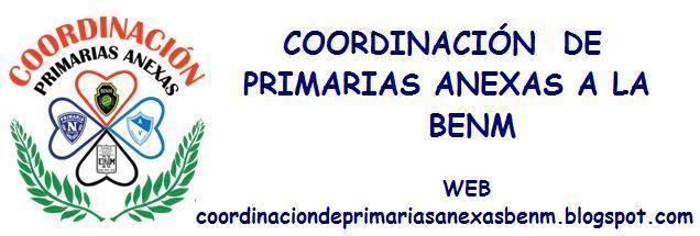 COORDINACION DE PRIMARIAS ANEXAS BENM