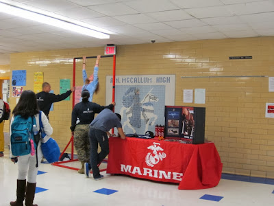Want to be popular? Be a Marine!