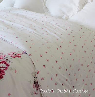 Target Shabby Chic Euro Sham : Sissie s Shabby Cottage: Loving my new Shabby Chic Bedding...