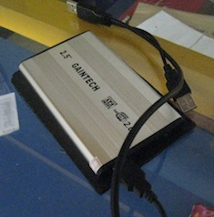 jual hdd external second