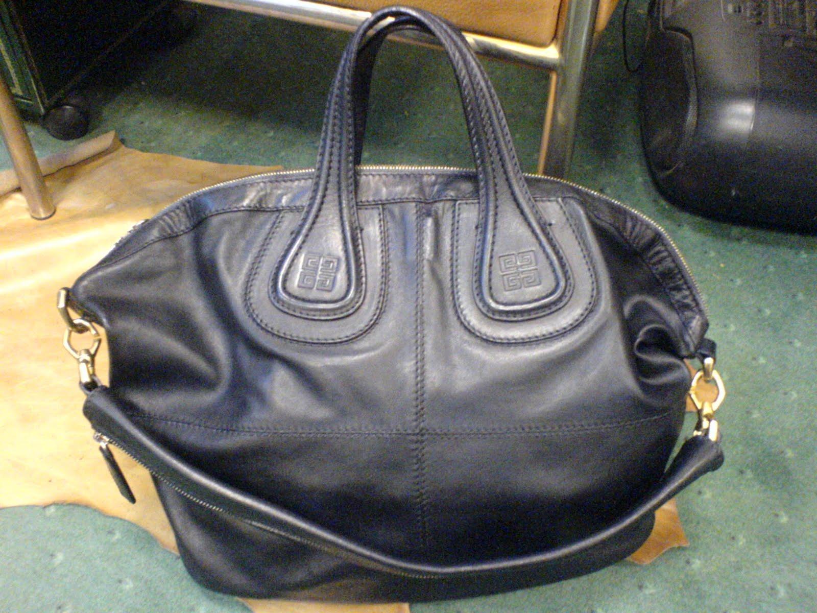 Salon cireur talon rouge paris teinture d 39 un sac givenchy blanc en noir - Teindre un vetement en blanc ...