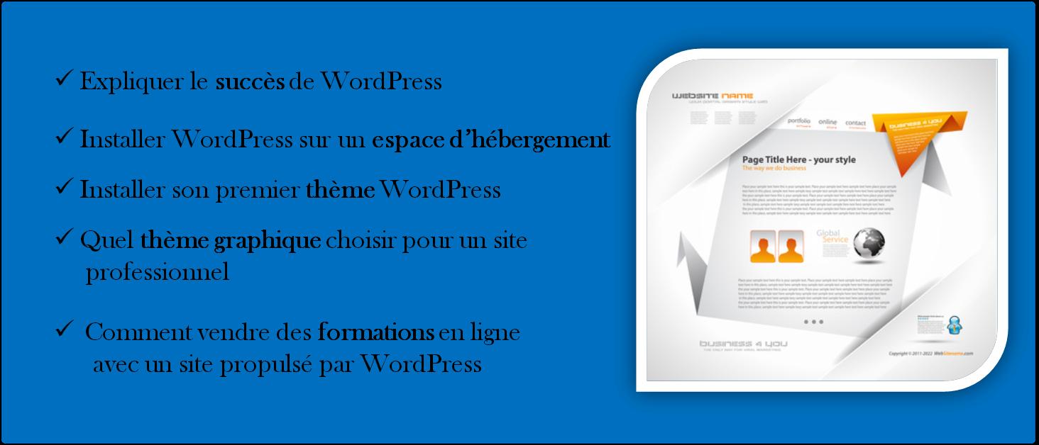 Le blog Optim Office propose une série d'articles consacrés à WordPress