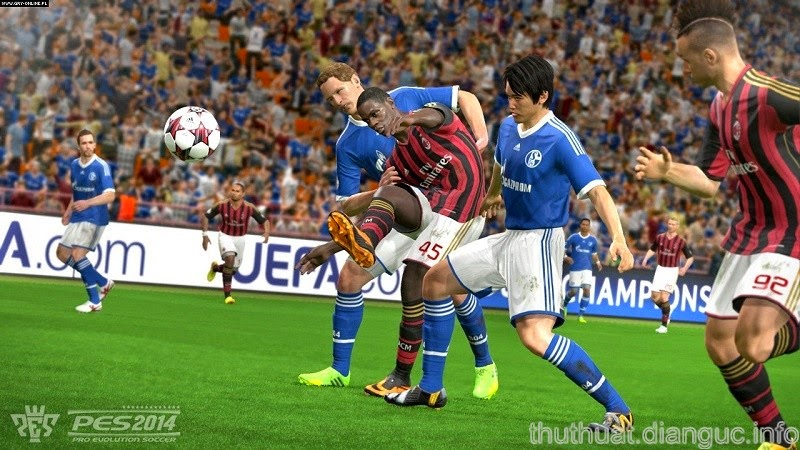 Download Pro Evolution Soccer 2014 Full Crack