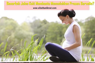 manfaat jalan kaki sewaktu hamil