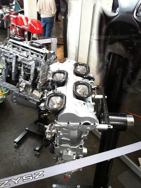 MotoCzysz motor