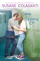 keep holding on by susane colasanti book cover
