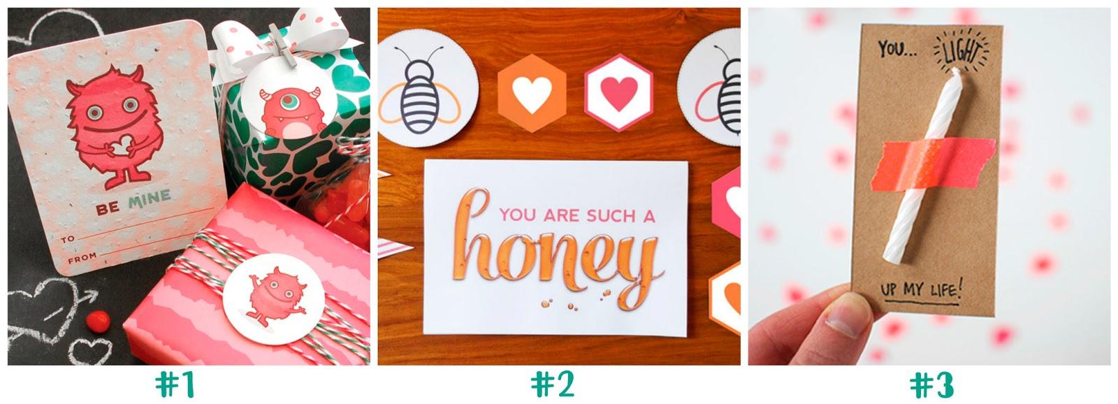 postales imprimibles para San Valentin