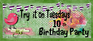 Try it on Tuesday 10th Birthday