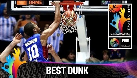 Gabe Norwood Slam Dunk Over Marcos Mata