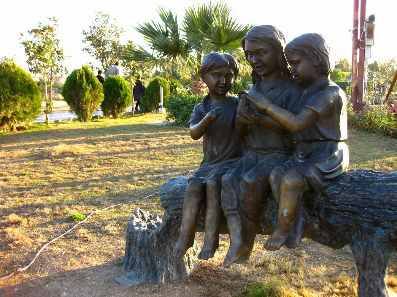 Kurdistanart Children Garden Statues At Shanidar Park In