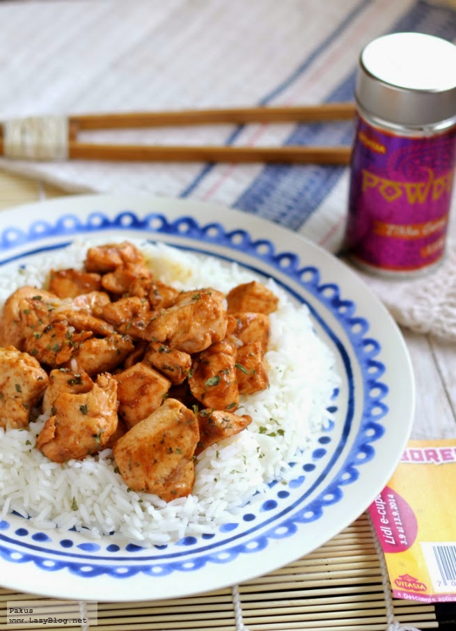 Pollo Tikka Masala sencillo