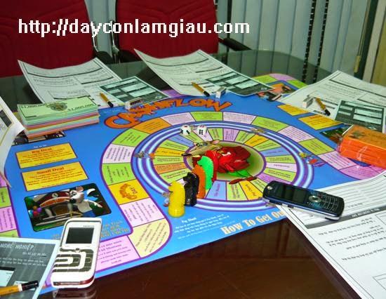 Board Game cashflow 101 Tiếng Việt