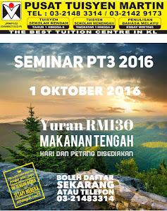 Seminar PT3 2016