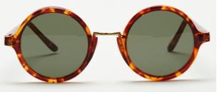nina nesbitt style round sunglasses