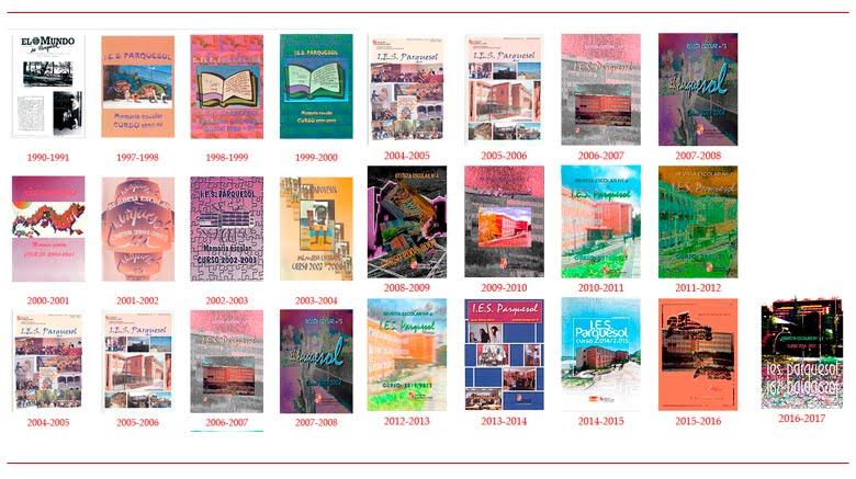 Revistas del IES Parquesol