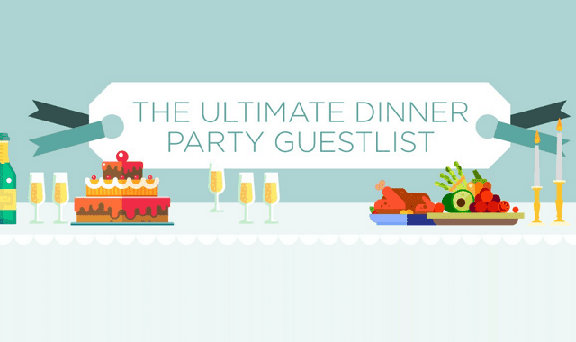 The Ultimate Dinner Party Guest List