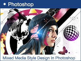 Create a Mixed Media Style Design In Photoshop