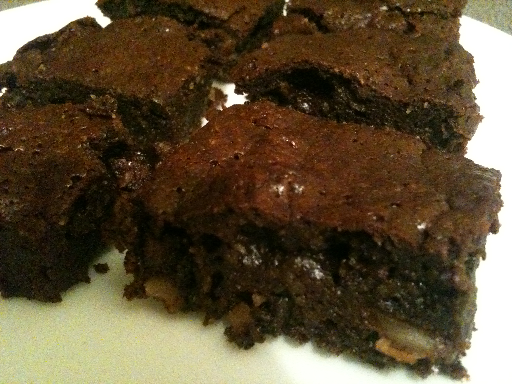 Wheat Belly Pecan Brownies