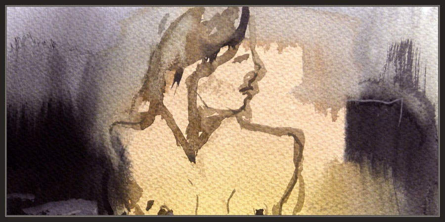 ACUARELAS-PINTURA-MUJERES-MODELOS-WATERCOLOR-WOMEN-ARTWORK-PAINTINGS-PINTOR-ERNEST DESCALS-