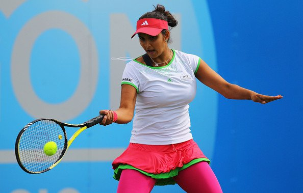 sania mirza aegon open clic - august 2011 hot photoshoot