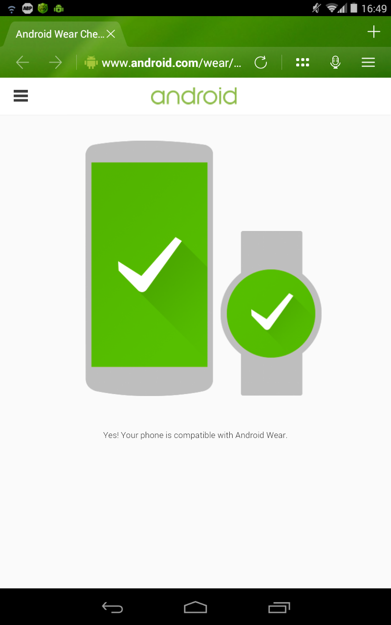 comment v rifier si votre smartphone est compatible avec android wear info magazine. Black Bedroom Furniture Sets. Home Design Ideas