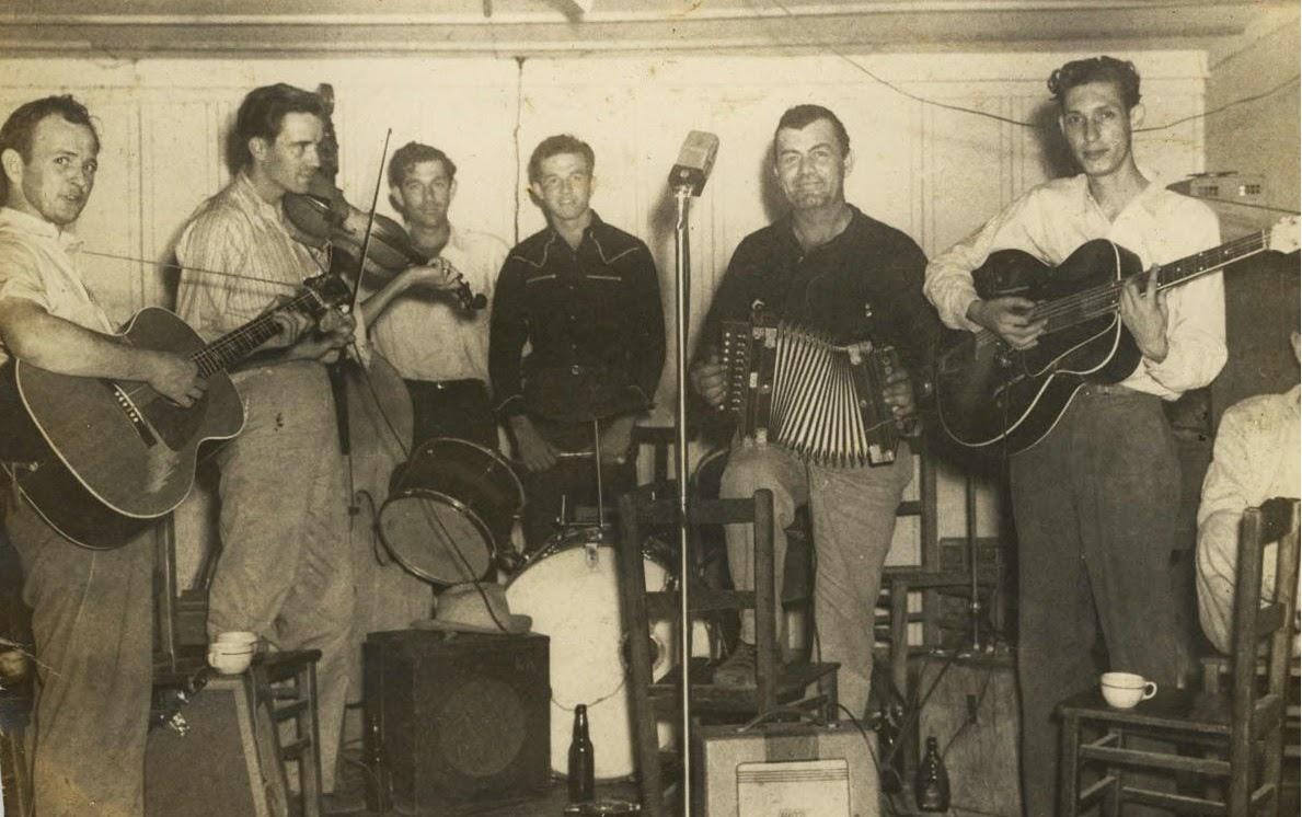 Early cajun music pine grove blues nathan abshire for Early house music