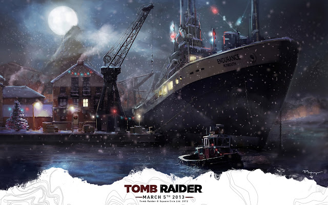 Happy holidays - Tomb Raider