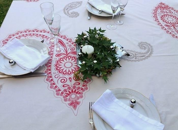 Texturas urbanas shop manteles de navidad para mesas - Manteles mesas grandes ...
