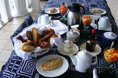 Villa Des Fées - Douala - Petit Déjeuner - Les Marches d'Elodie