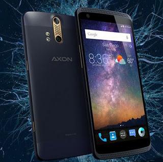 handphone octa core ZTE Axon mini