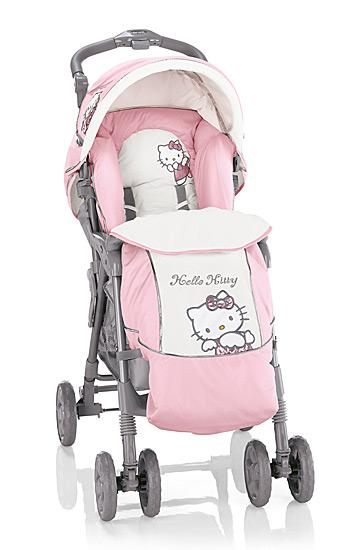 hello kitty prams and strollers hello kitty forever. Black Bedroom Furniture Sets. Home Design Ideas