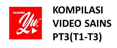 KOMPILASI VIDEO SAINS PT3