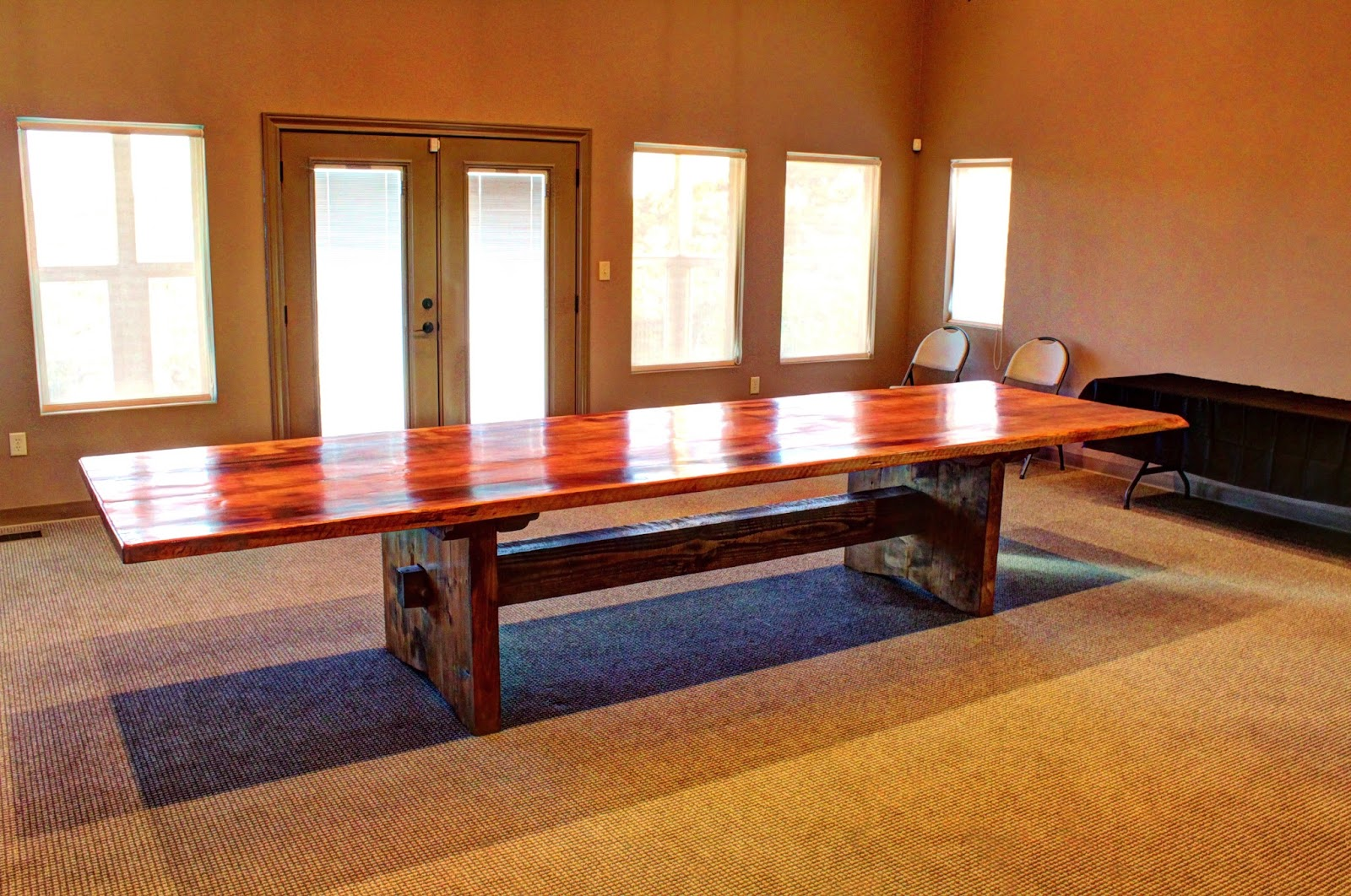 Mitchell Co Custom Furniture Ft BOERNE CONFERENCE TABLE - 14 foot conference table