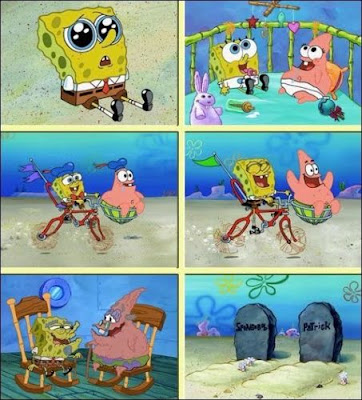 Best Friends  Forever - Spongebob Squarepants  And Patrick Star