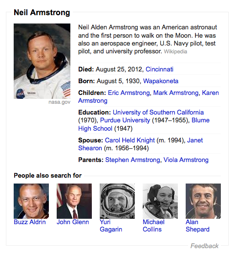 Neil Armstrong Apollo first man on the moon biography astronaut